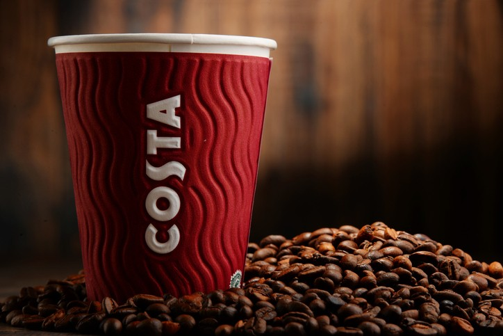 Coca-Cola buys Costa Coffee, British cafe chain, for $5.1 billion