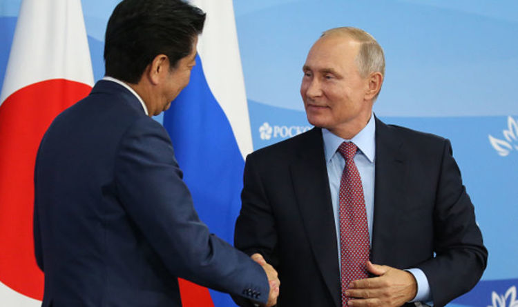 It might be the right time for Peace Treaty between Japan and Russia, at least that's what Putin is suggesting.