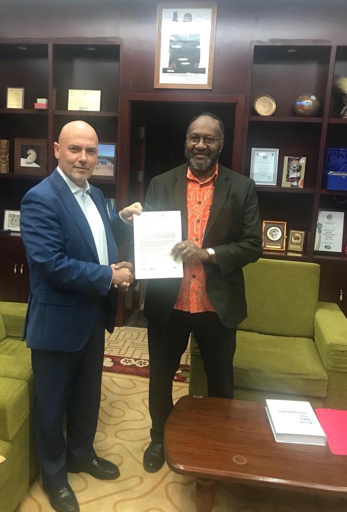 PRIME MINISTER CHARLOT SALWAI TABIMASMAS INVITED TO ATTEND 2018 HALIFAX INTERNATIONAL SECURITY FORUM