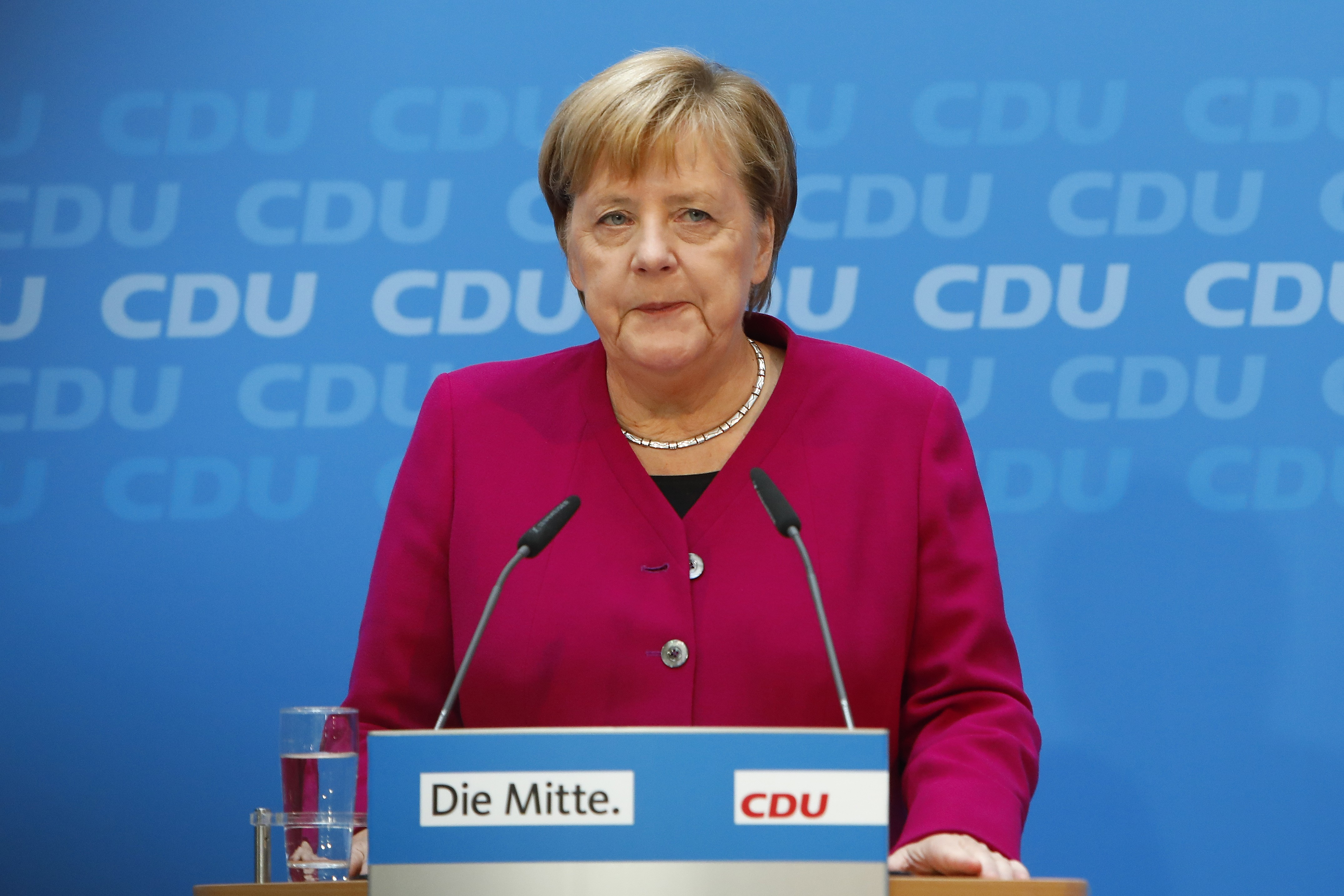 Angela Merkel will step down as Germany's chancellor in 2021
