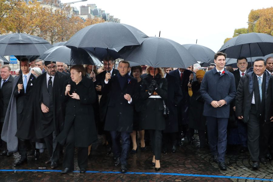 World leaders gather in Paris for WWI anniversary