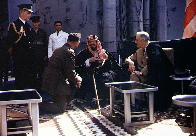 The Historic Saudi American relations