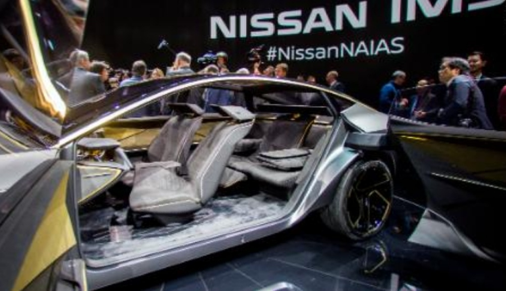 Nissan gives a glimpse of future electric cars