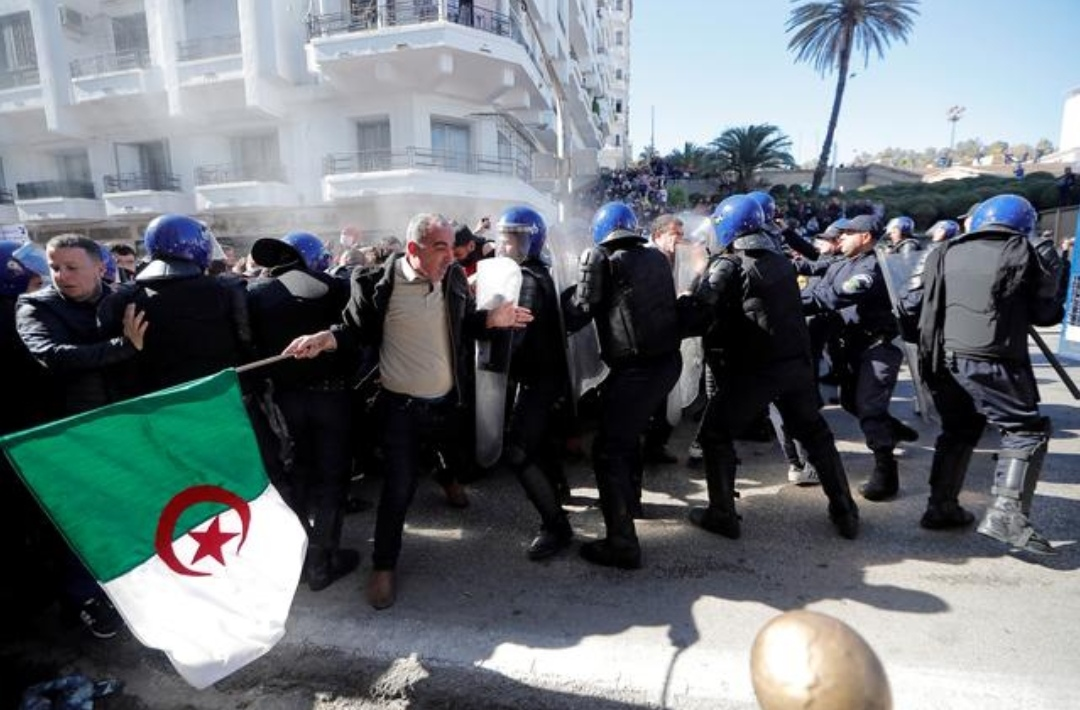 183 injured in Algeria protests: state news agency