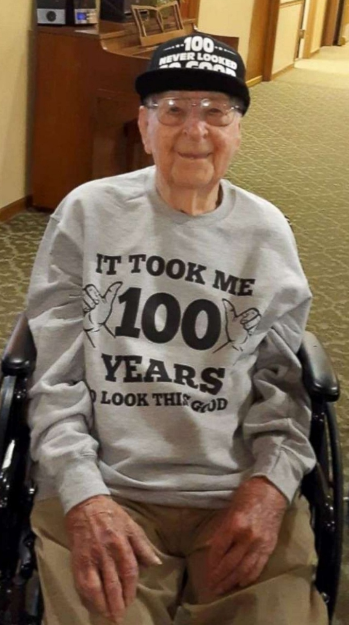 WWII veteran who asked for 100 birthday cards for his 100th birthday gets thousands
