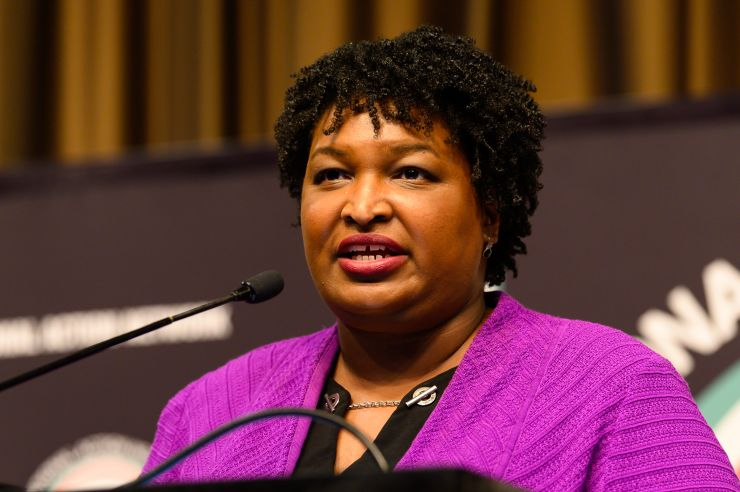 Georgia Democrat Stacey Abrams doesn't rule out White House bid as she declines to run for Senate