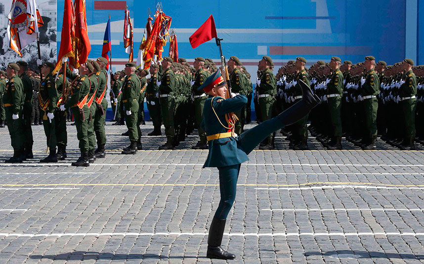 Russia marks World War Two victory day with huge parade in Red Square
