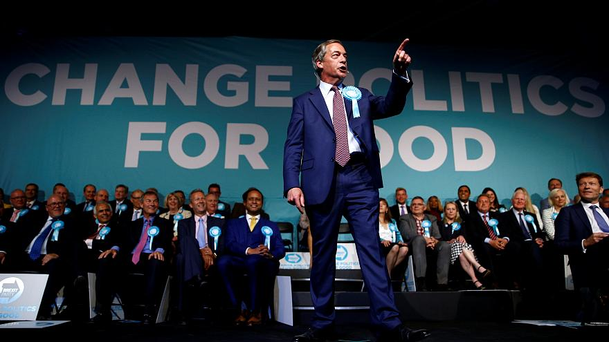 EU polls: Populism surge as Brexit Party forecast to take most seats in European Parliament