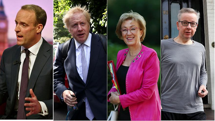 Who is in the running to be UK's next prime minister and what's their view on Brexit?