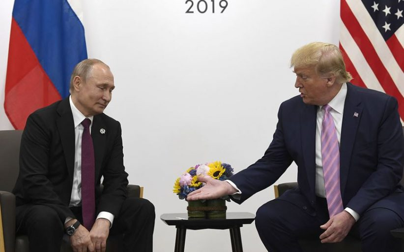 Trump tells Putin: Don't meddle in US elections