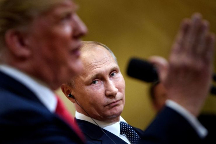 Putin says Russia is ready to talk to the US about arms control
