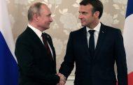 Ukraine high on agenda as Macron meets Putin before G7