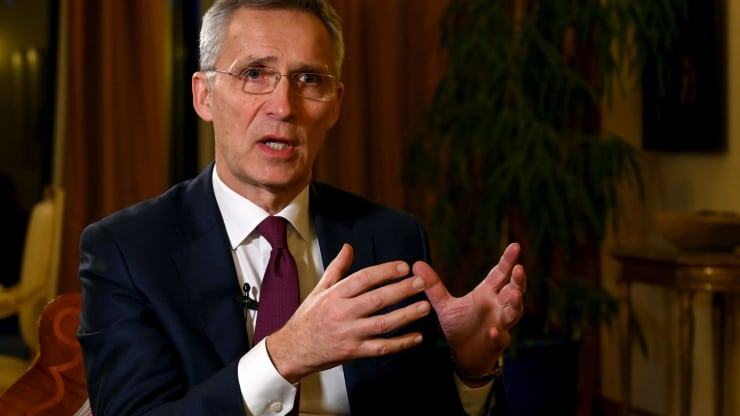 NATO chief sees no 'imminent threat' against allies in face of China, Russia tensions