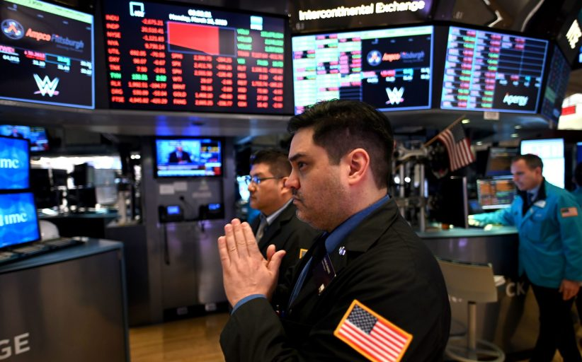 Dow futures down nearly 200 points after bank stress test results, Nike reports surprise loss