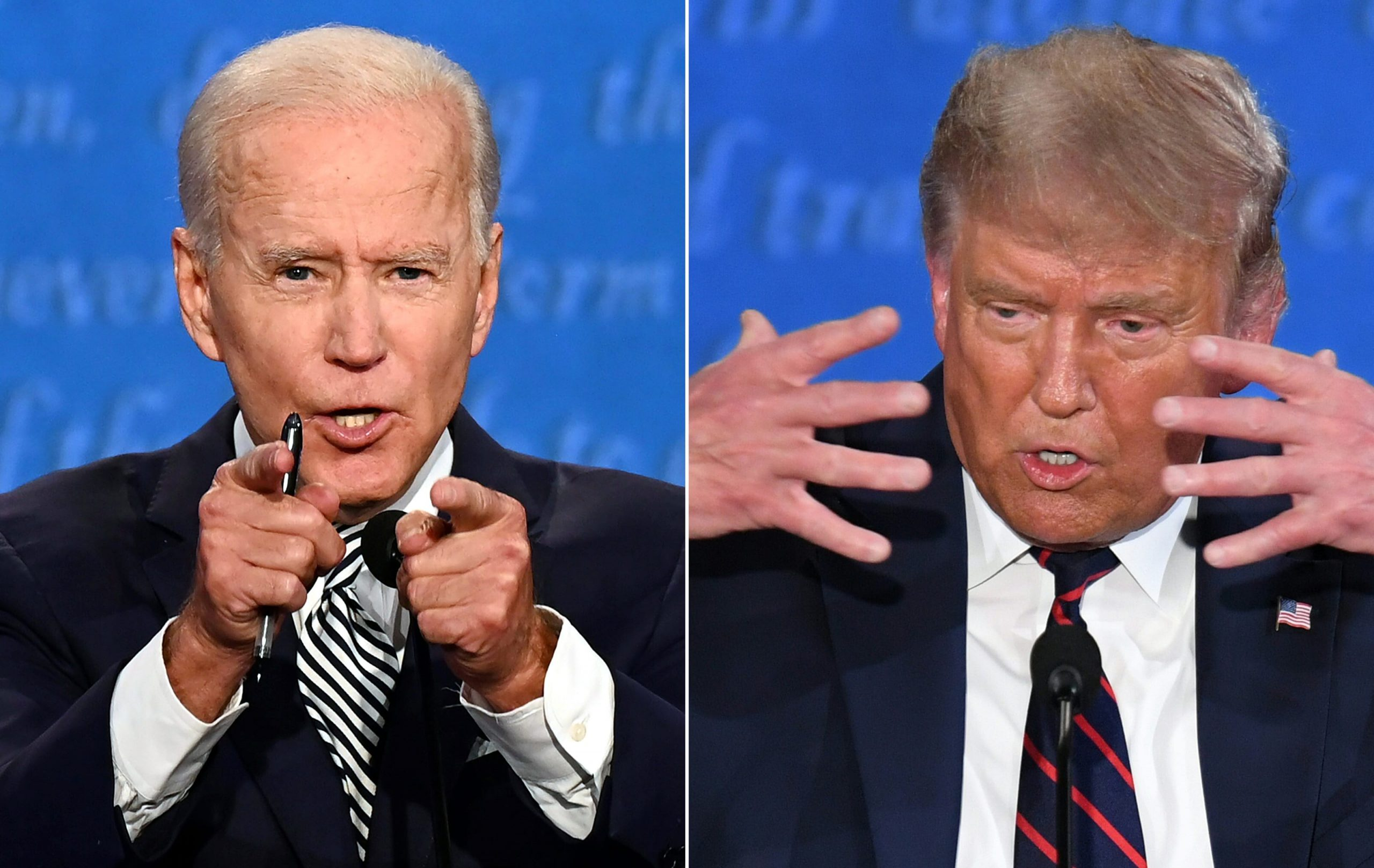 Vicious first debate between Trump and Biden offered little on policy, lots of conflict
