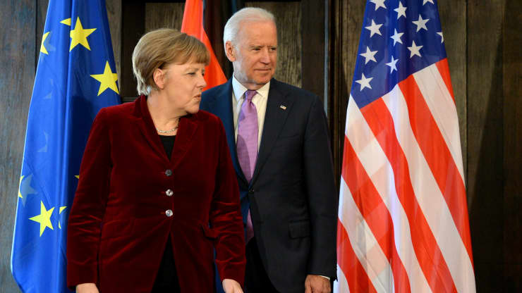 Biden's 'America is back' is good news for Germany