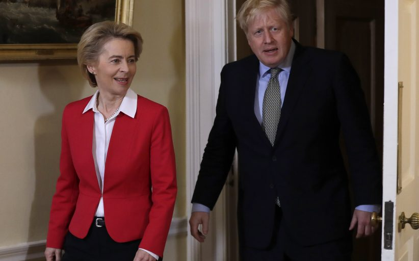 Britain and the EU make final push for post-Brexit trade deal