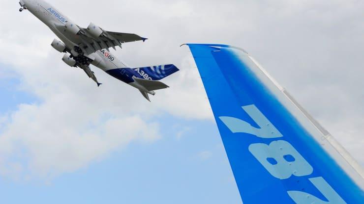 U.S., EU to suspend tariffs in effort to resolve Boeing-Airbus subsidy dispute